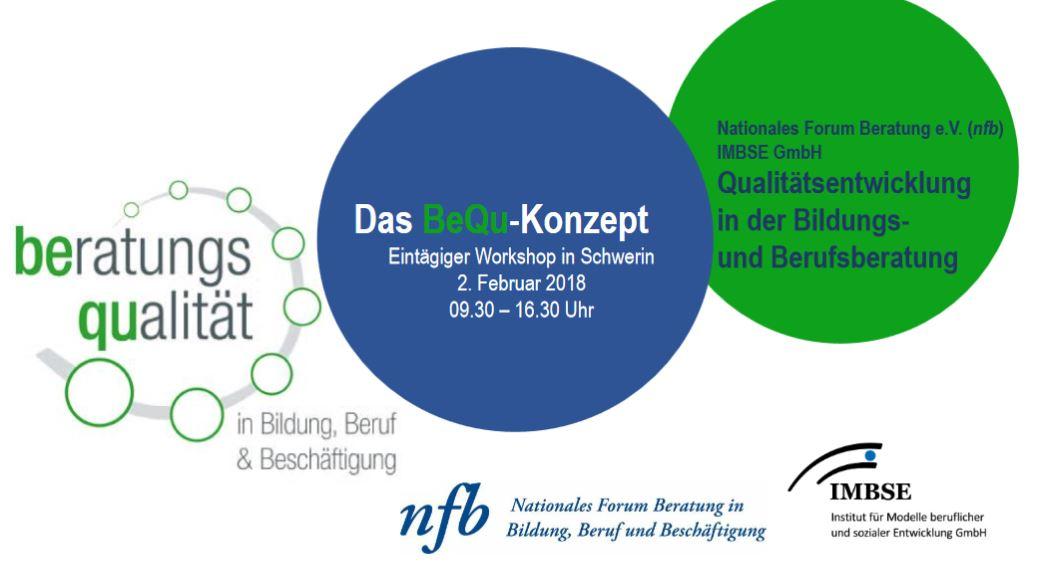 Flyer BeQu Workshop Schwerin