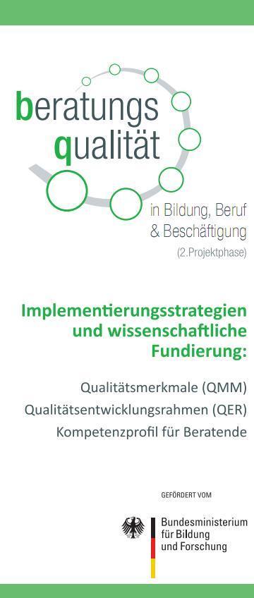 Deckblatt Flyer BeQu II